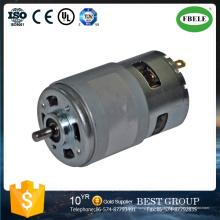 Motor DC de Alta Potência, Motor de Ferramentas Elétricas, Motor DC de Escova, Mini Motor Micro, Motores de Escova de Carbono, Motor de Caixa de Engrenagens