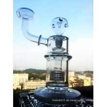 Neues Design Febarge Ei Öl Rig Recycler Glas Rauchen Rohr