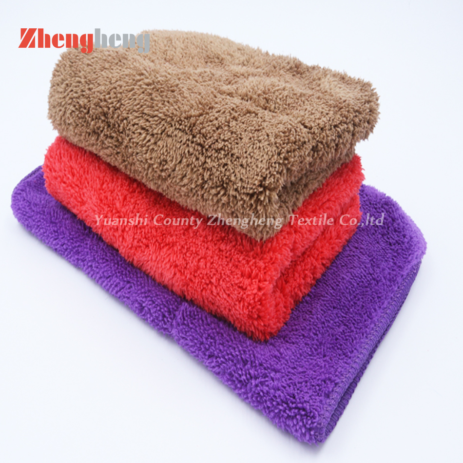 Polyester Coral Fleece Towel (9)