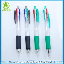 Promocional 4 color plástico bic bolígrafo para escuela y oficina usados