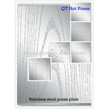 Plaque de pressage en acier inoxydable