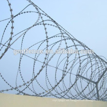 Proveedor de Anping Galvanized Razor / Barbed wire