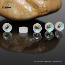 Optical glass achromatic doublet lens AR coated high precision