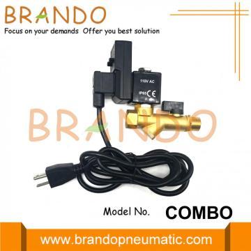 Combo Jorc Type 5523/2523 Vanne de vidange automatique des condensats