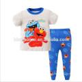 Мягкий Хлопок Одежда Теплые Пижамы Милый Стиль Печатных Дети Пижамы