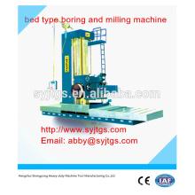 Universal de tipo de cama de perforación y fresado precio de venta en caliente ofrecido por China tipo de cama de perforación y fresado de la fabricación de la máquina
