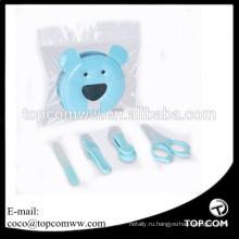 Набор из 4 ножниц с ножницами, пилкой и носовыми пинцетами для новорожденных