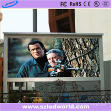 Thri-Color RGB High Definition P6 Pantalla LED Publicidad exterior