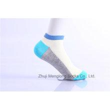 Moda menina algodão meias feitas de algodão fino cores brilhantes