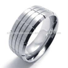 Italienischer 316 Edelstahl geformter Charme Ring