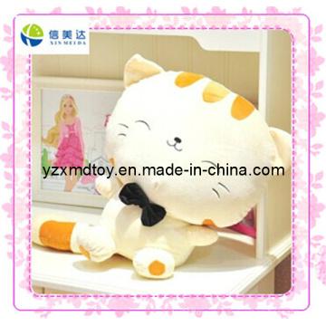 Симпатичная плюшевая кошка Мягкая игрушка