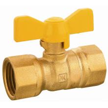 237 Brass Gas Ball Valve, Leakproof , Butterfly Hand, EN331