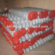 Clôture à mailles en PVC