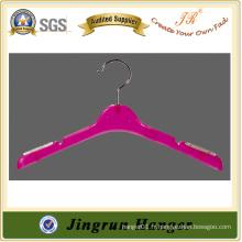Alibaba Site Display Knit Hanger De Plastique Avec Crochet De Métal