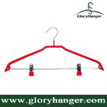 DIP Kunststoff Matel Hanger mit zwei Clip