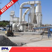 Calcaire, machine de moulin de pulvérisateur d'application de calcite pour des Philippines
