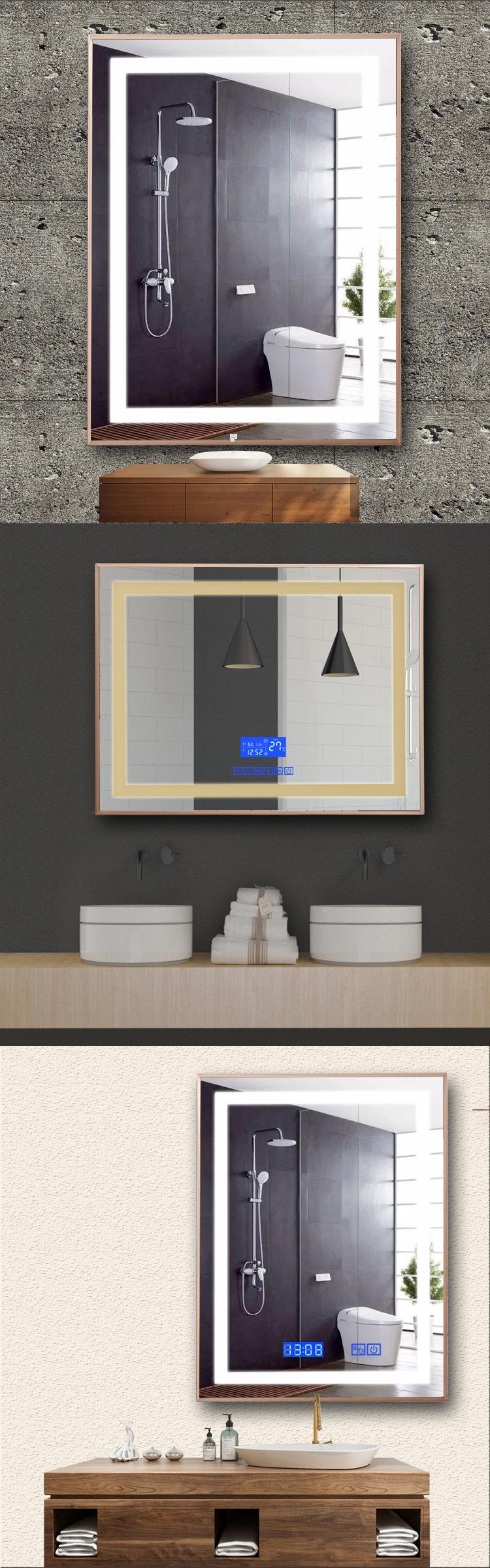 Application Light Up Bathroom Mirror