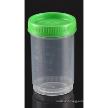 FDA Registered 120ml Urinalysis Specimen Container