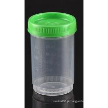 Registrador de análise de urina de 120ml registrado pela FDA