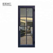 Position extérieure et ouverture à l'extérieur des portes-fenêtres lowes