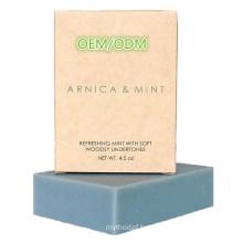 Custom 100% Natural Organic Sports Arnica Bar Soap