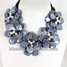Holiday Party Jewelry Summer Flower Shell Necklace Jewelry SP003
