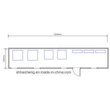 Casa prefabricada contenedor Inicio utilizado como comedor (shs-fp-cocina y dining002)