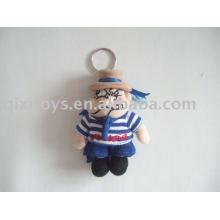 plush and stuffed doll keychain