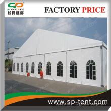 Tente de mariage pour fête de fête de PVC avec des fenêtres transparentes ou plancher