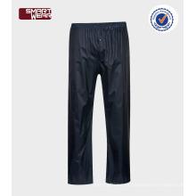 al por mayor de alta calidad a prueba de agua impermeable lluvia barato impermeable pantalones de lluvia
