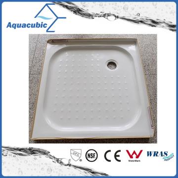 Сантехники квадратных 2 боковых губ АБС стекловолокна душевой поддон (ACT9090)