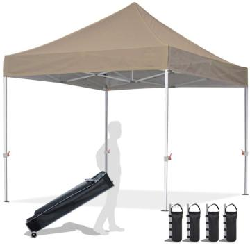 Gazebo in metallo 10x10 pop-up per impieghi gravosi