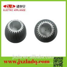 Custom anodizado CNC precisão dissipador, rodada de alumínio radiador