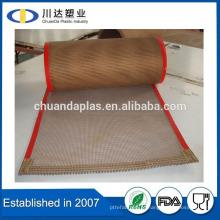 Aprovação da FDA alimentos isolados Teflon open mesh conveyor belt Fabricação em Taixing