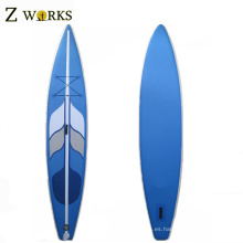 SUP Paddleboard inflable de calidad superior con aletas girando Paddle Boards