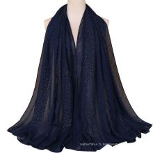 TINGYU Wholesale Malaisie pakistanaise coton écharpe en dentelle femmes Hijab