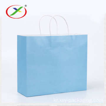 round twist handle  shopping bag