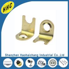 Terminal professionnel en laiton estampé par métal fait sur commande