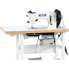 Extra Heavy Duty Flat Bed Walking Foot Lockstitch Sewing Machine