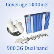 Bester Verkauf Dual-Band GSM Dcs Repeater 900 2100 Handy-Signal Booster