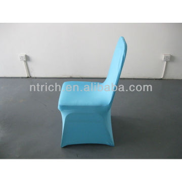 fitted chair covers wedding,Lycra/Spandex chair cover with sash for wedding and banquet