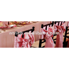 Satin Chair Sash for wedding/banquet