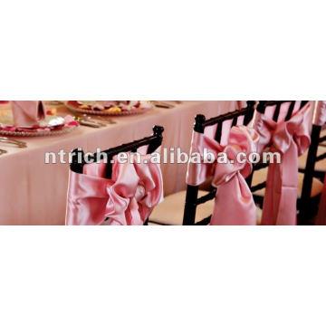 Schärpe Satin Stuhl für Hochzeit/Bankett
