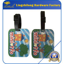 Günstigen Preis Bulk PVC Gepäckanhänger