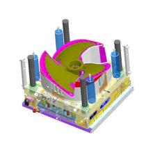 Plastic Auto Mold for Auto Parts, Auto Production