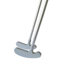 Factory direct sale golf head zinc alloy double-sided putter head can practice golf club head