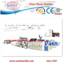 Máquina de extrusão de placa de espuma de PVC