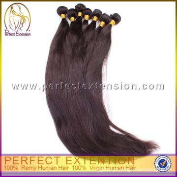 Extensão perfeita cheia de cutícula Top 100 cabelo humano Weave marcas brasileiras