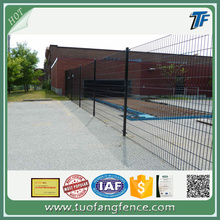 Double wire decorative welded fencing panel
