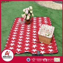 Высокое качество стиль портфель на открытом воздухе водонепроницаемый флис пикник одеяло